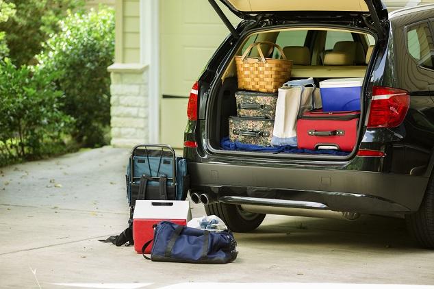 transport de matériel avec une voiture