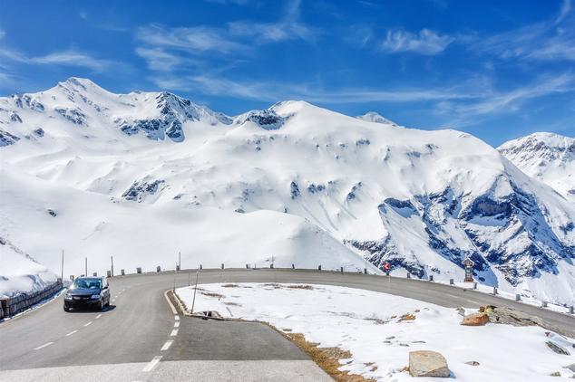 voiture vacances hiver