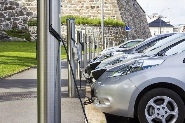 Des voitures électriques en ville