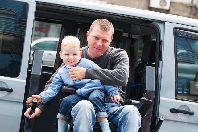 voiture handicapée